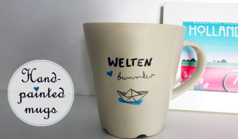 DIY: How to personalize your mugs?