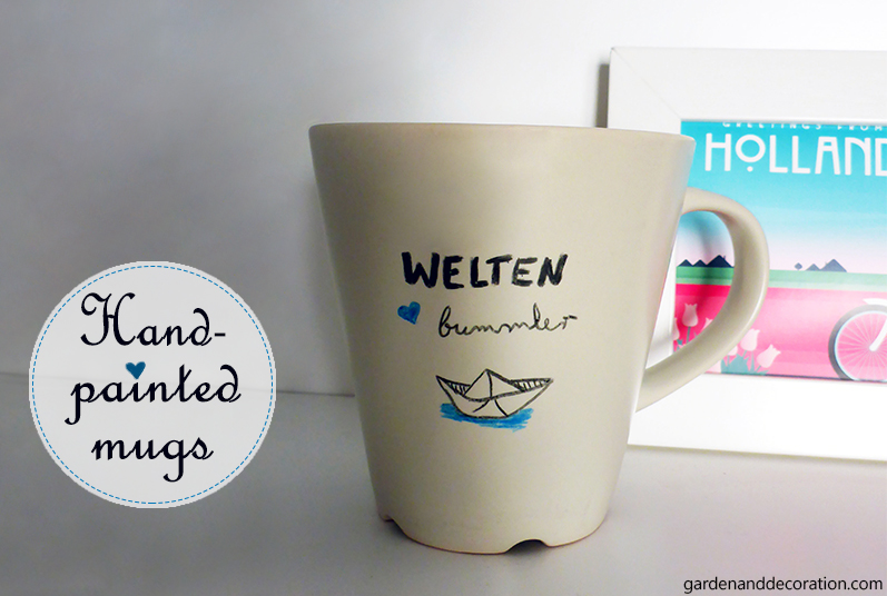 Handpainted mug