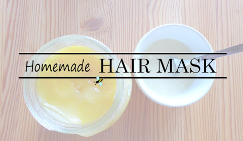 Homemade honey-milk hair mask
