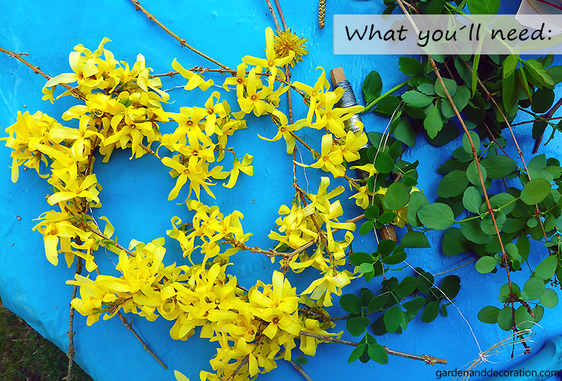 DIY_floral wreath_what you´ll need