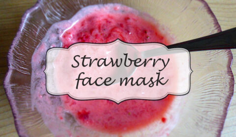 Natural DIY: Strawberry face mask