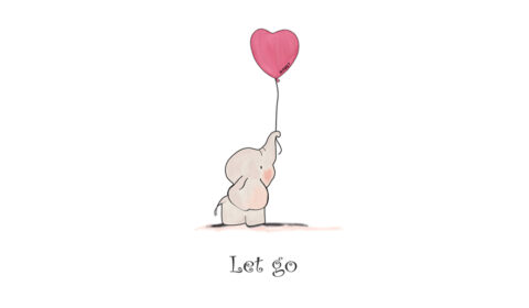 """Let go"" illustration"