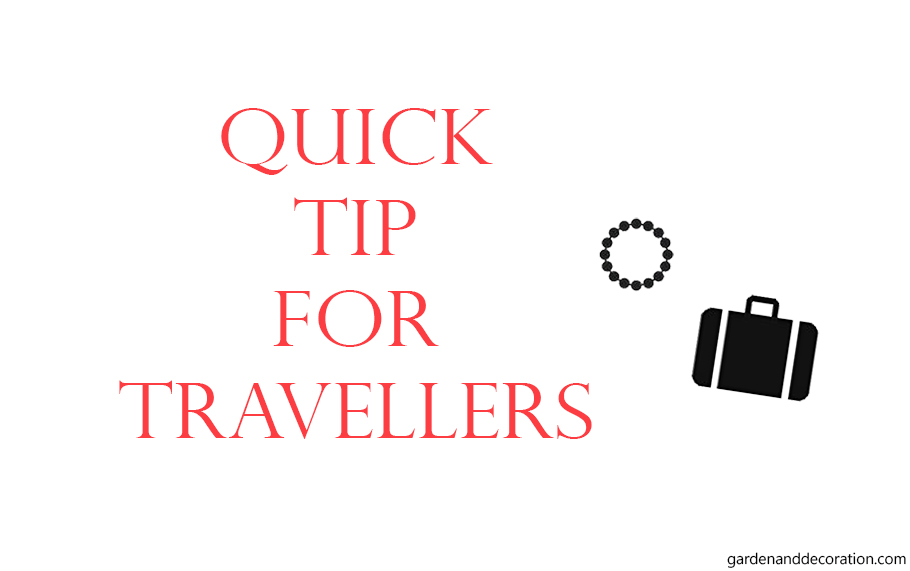 Quick tip for travellers