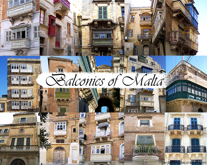 Balconies of Malta