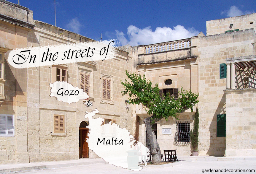 In a street of a Maltese city