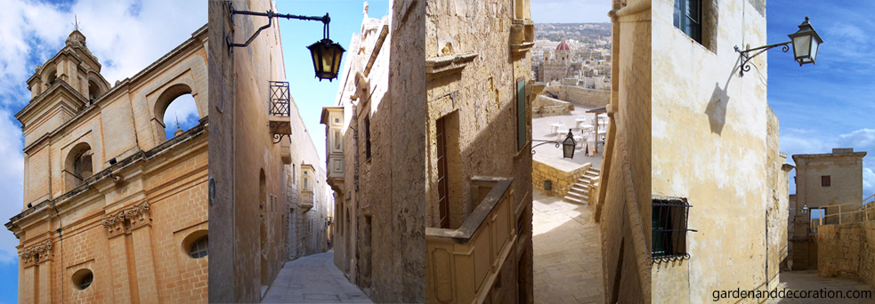 Streetviews from cities on Malta and Gozo (1)