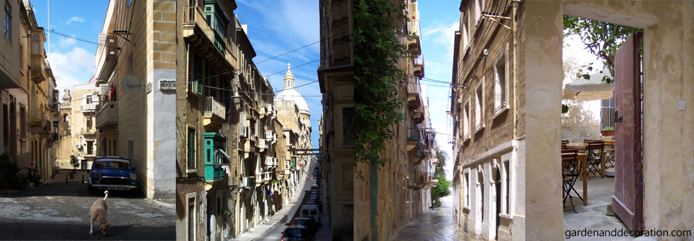 Streetviews from cities on Malta and Gozo (2)