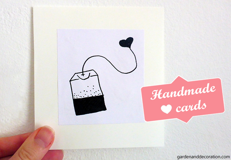 Handmade hearty cards_by gardenanddecoration.com