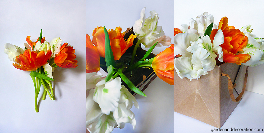 How to do the tulip present bag_by gardenanddecoration
