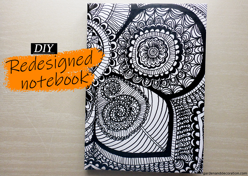 New designed notebook_finished product_gardenanddecoration