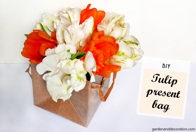 DIY: Tulip present bag_by gardenanddecoration.com
