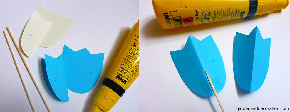 DIY_Colourful paper tulips (2)