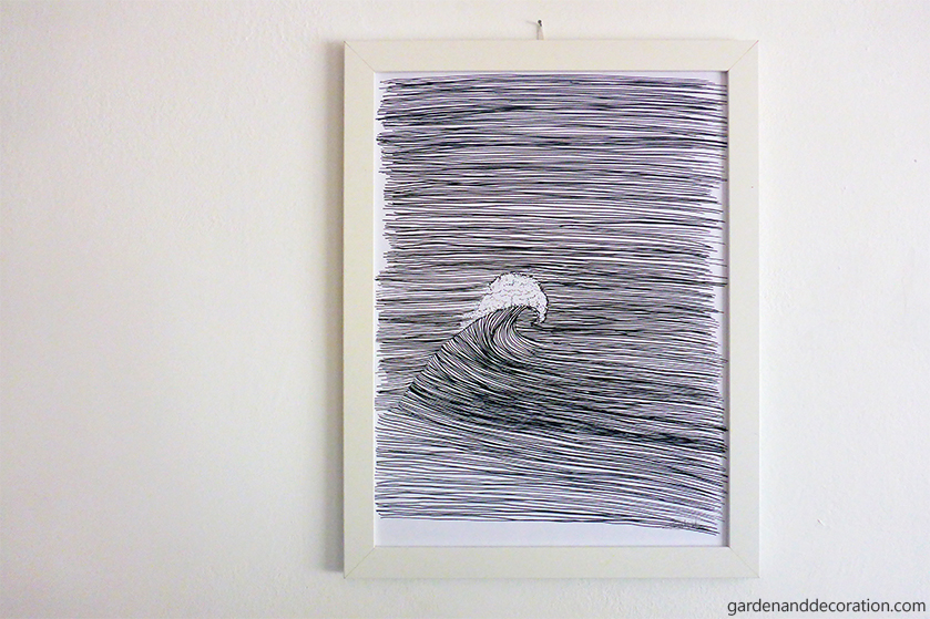 Wavy drawing for your home_by gardenanddecoration.com