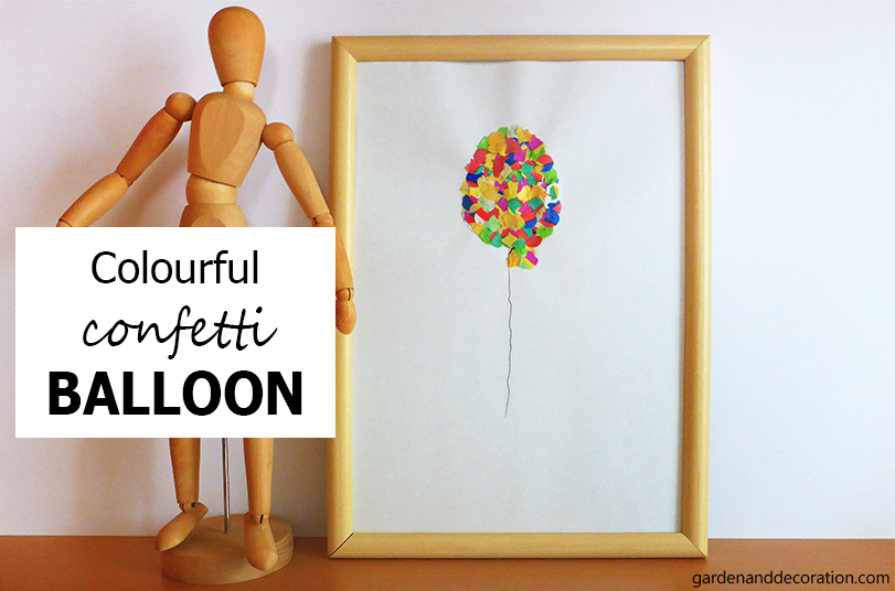 Colourful crafted balloon_by gardenanddecoration.com