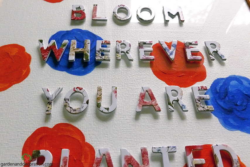 Bloomy picture_stick letters_by
