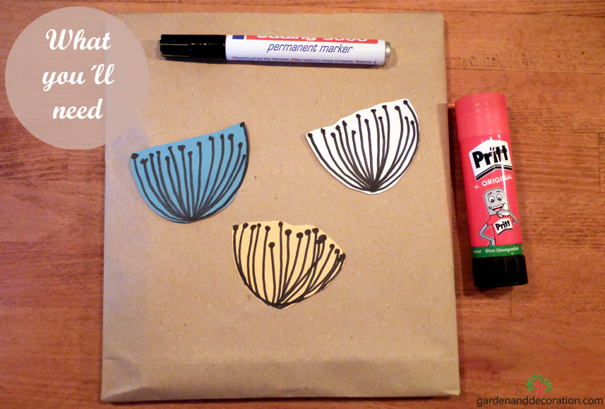 DIY: What you´ll need_lovely gift wrapping idea
