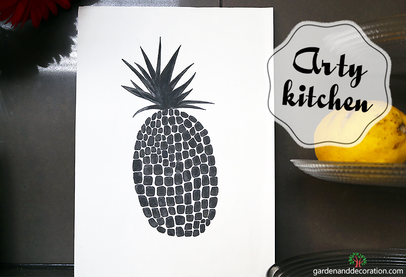 DIY_Kitchen art_by Maggy_from gardenanddecoration.com