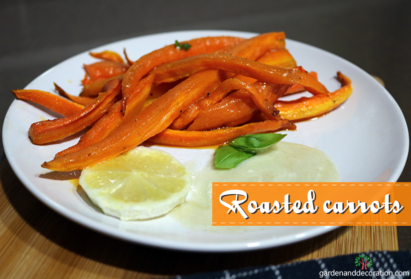 Recipe_Homemade roasted carrots for dinner_by gardenanddecoration.com