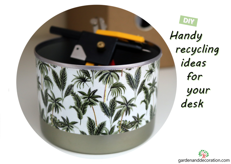 DIY_Recycling idea with household items_by gardenanddecoration.com