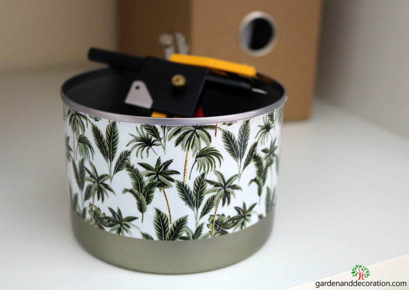 DIY_Recycling idea with household items_container_by gardenanddecoration.com