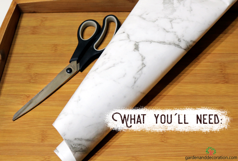 DIY: What you´ll need for the marbleous tray_by gardenanddecoration.com